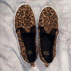 """cheetah slip on """"vans"""""""